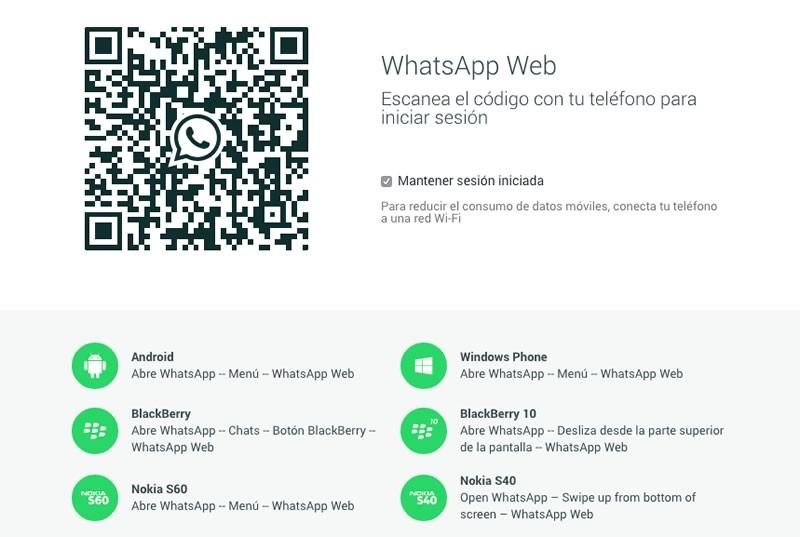 WhatsApp para PC es usado como gancho de spam y troyanos - WhatsApp-Web-Oficial-800x537