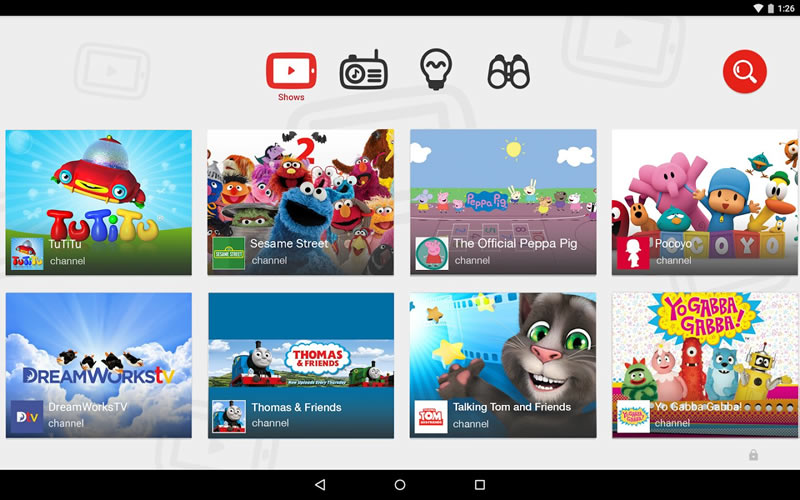 YouTube para niños fue lanzado oficialmente - Youtube-Kids-videos-para-ninos
