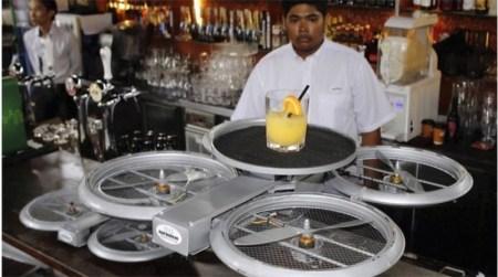Drones servirán la comida en restaurantes de Singapur