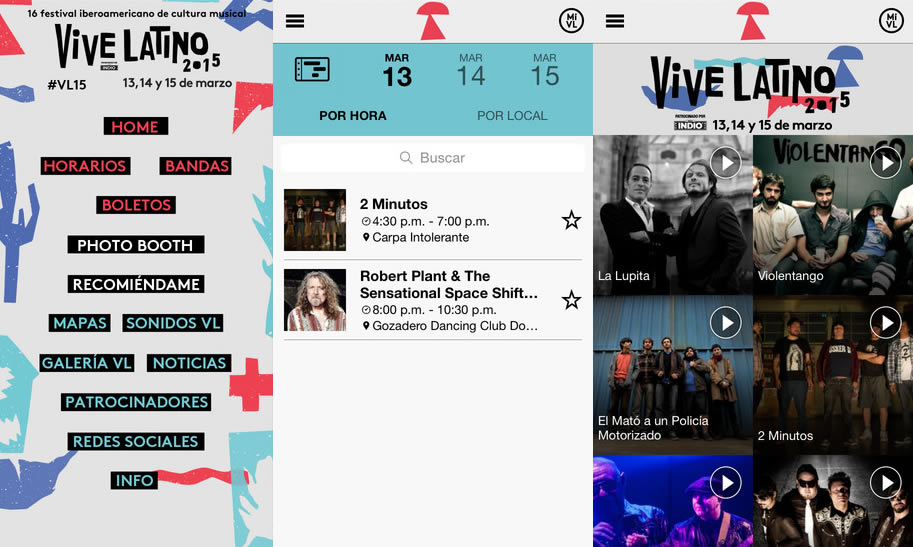 Vive Latino 2015: Descarga la app oficial y conoce todo sobre el festival - App-Vive-Latino-2015