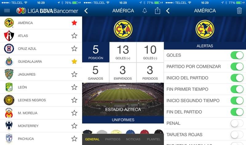 Lanzan la app de la Liga MX para iOS y Android - App-de-la-Liga-MX