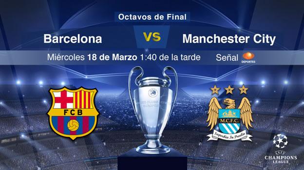 Barcelona vs Manchester City, Champions 2015 [Partido de vuelta] - Barcelona-vs-Manchester-City-2015