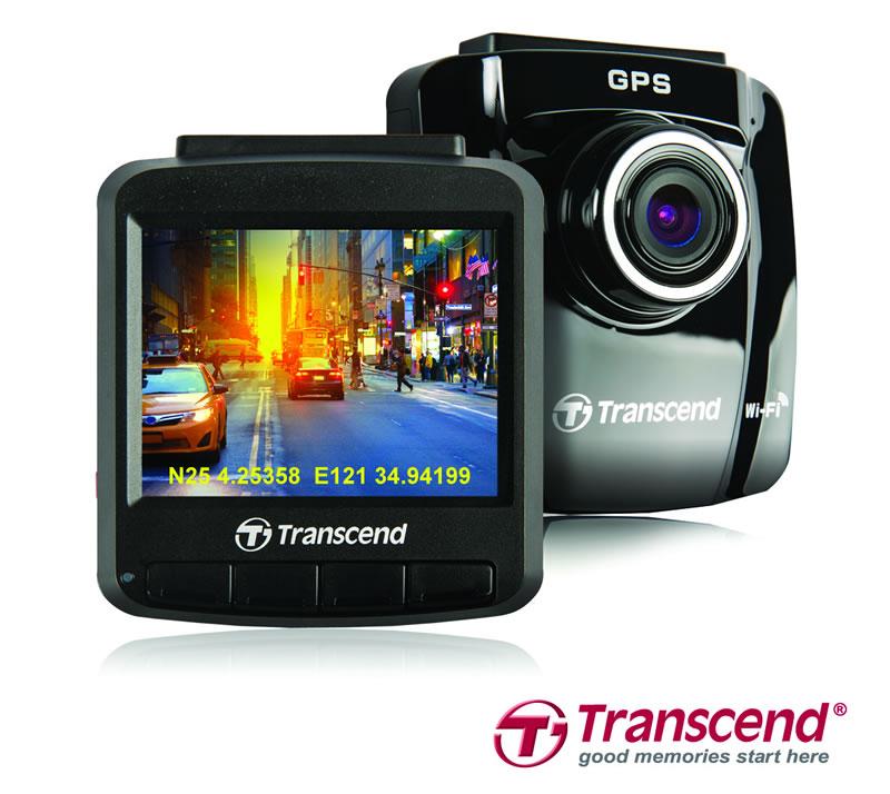 Transcend Lanza cámara para autos DrivePro 220 con receptor GPS integrado y conectividad Wi-Fi - Camara-para-autos-Drive-Pro-220