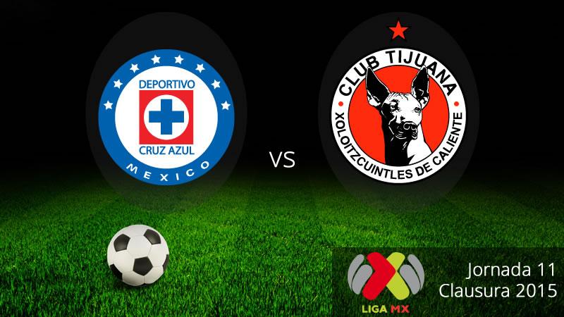 Cruz Azul vs Tijuana en el Clausura 2015 - Cruz-Azul-vs-Tijuana-Clausura-2015