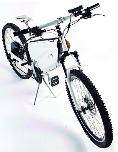 Hybridus, la bici-moto eléctrica creada por mexicanos - Hybridus-moto-bicicleta-electrica