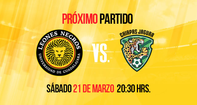 Leones Negros UDG vs Jaguares, Clausura 2015 - Leones-Negros-UDG-vs-Jaguares-ClaroSports-UnoTV