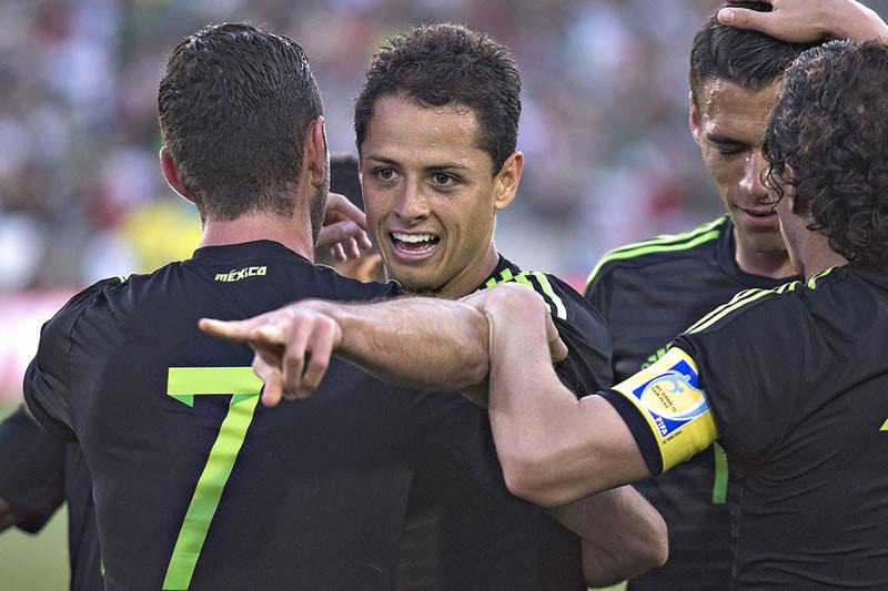 México vs Paraguay en partido amistoso 2015 - Mexico-vs-Paraguay-2015-800x533