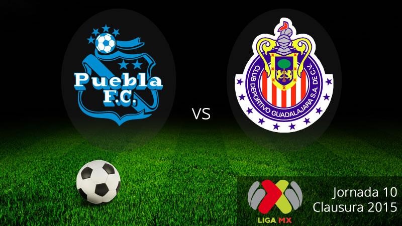 Puebla vs Chivas, Jornada 10 del Clausura 2015 - Puebla-vs-Chivas-Clausura-2015