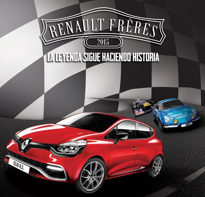 Renault celebra su pasado, presente y futuro en México - Renault-Freres-2015