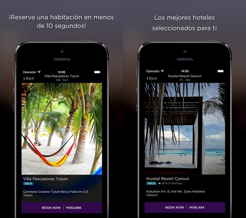 Las apps te ayudan a ahorrar en vacaciones de Semana Santa - Reservar-hotel-barato-Cancun-Semana-Santa