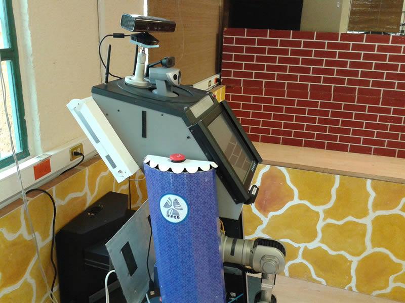 Conoce a Sabina, la robot mexicana que realiza tareas domésticas - Sabina-robot-mexicana-tareas-domesticas