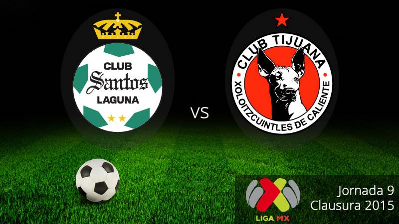 Santos vs Tijuana en el Clausura 2015 - Santos-vs-Tijuana-Clausura-2015