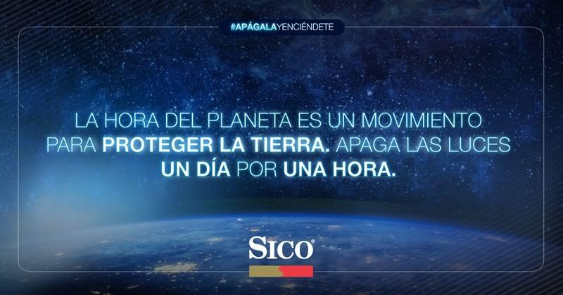 Sico revela su inspiración para la campaña #ApágalayEnciéndete - Sico-Hora-del-planeta