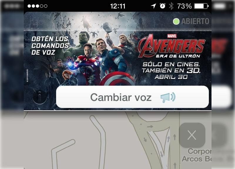 Los Avengers te llevan a tu destino gracias a Waze - Voces-de-Avengers-en-Waze