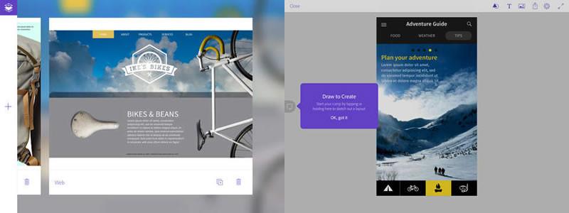 Adobe Comp CC, la nueva app de adobe para creación de conceptos y es ¡Gratis! - adobe-comp-cc-ipad-800x300
