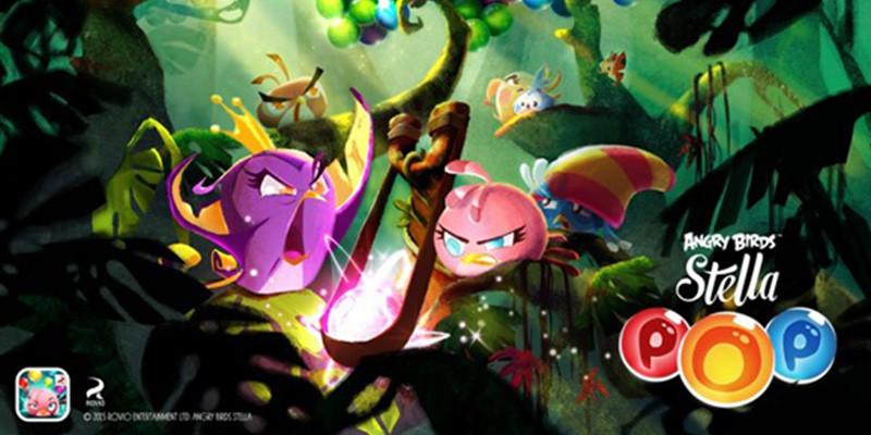 Rovio anuncia el lanzamiento de Angry Birds Stella POP - angry-birds-stella-pop1-800x400