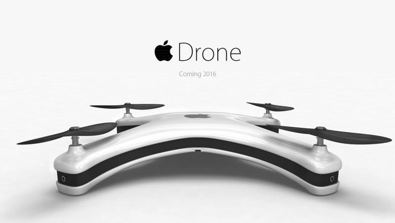 Así luciría un drone si fuera diseñado por Apple