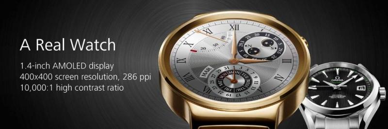 LG G Watch Urbane vs Huawei Watch, los smartwatches del #MWC2015 - huawei-watch-800x267