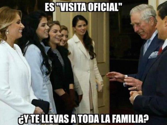 Lo mejor de la visita de Peña Nieto a UK en Memes - meme_uk6
