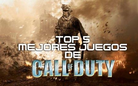 Top 5 de los Mejores Juegos de Call of Duty