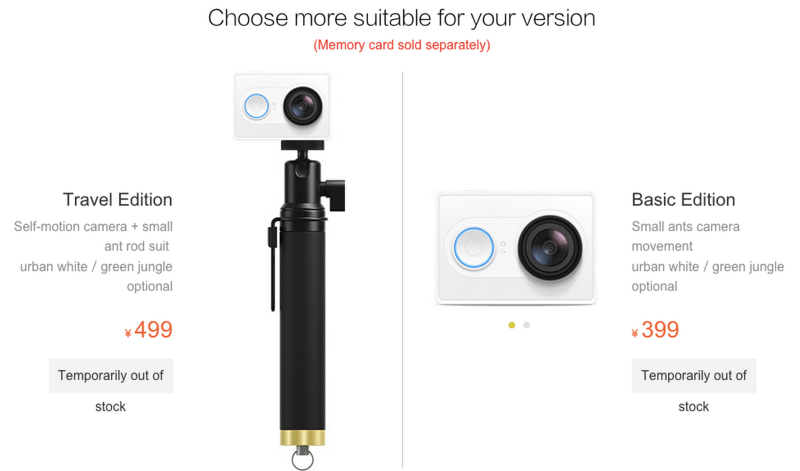 Xiaomi Yi Action es la alternativa de $70 dólares a GoPro - xiaomi-yi-action-800x471