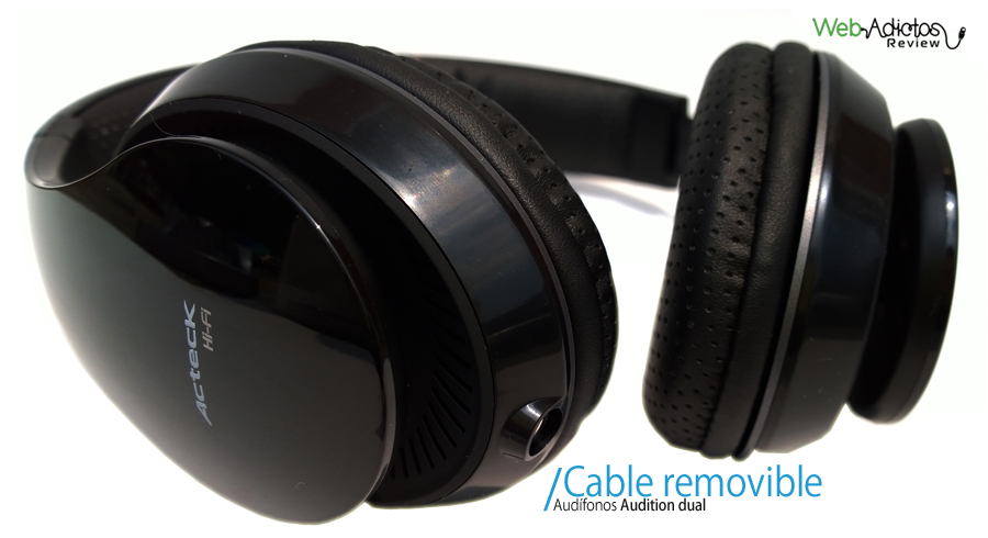 Audifonos con microfono acteck 4 Audífonos con micrófono Audition Dual de Ackteck
