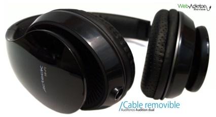 Audífonos con micrófono Audition Dual de Ackteck - Audifonos-con-microfono-acteck-41