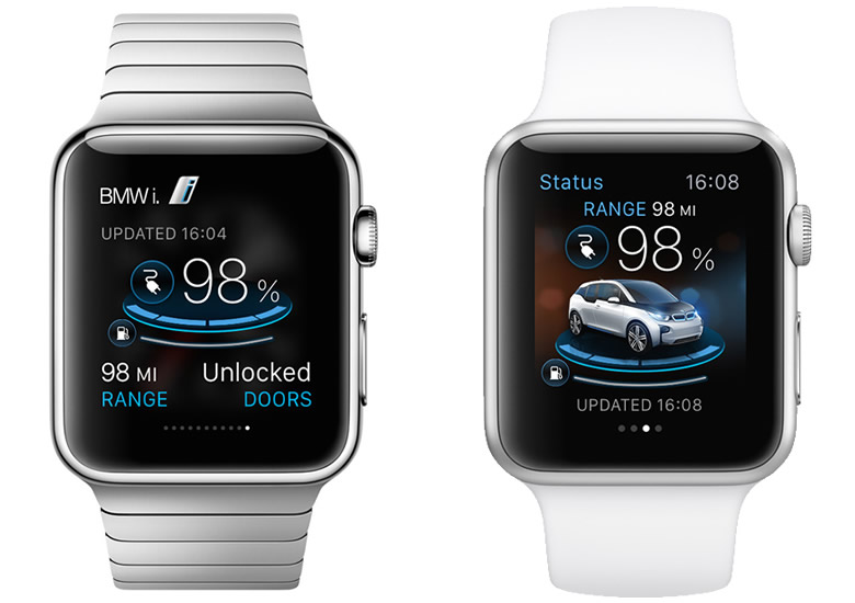 BMW i Remote, la app para controlar el BMW i desde el Apple Watch - BMW-i-Remote-Apple-Watch