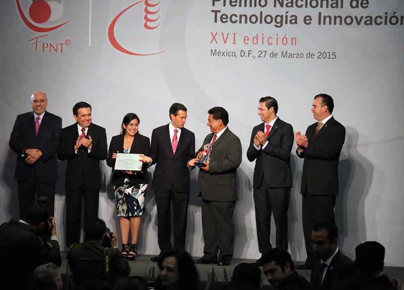 Empresa mexicana es premiada por innovador biofertilizante - Biokrone-premio-nacional-de-tecnologia-e-innovacion