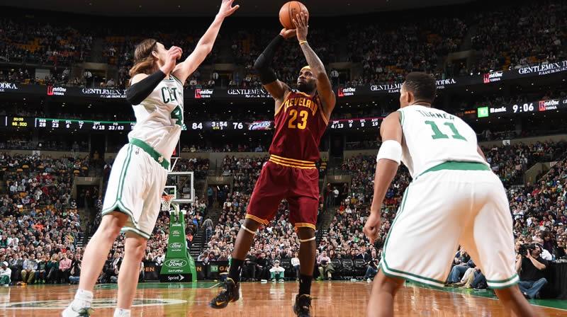 Playoffs NBA 2015: Celtics vs Cavaliers (Juego 1) - Celtics-vs-Cavaliers-Playoffs-NBA-2015-en-vivo-juego-1