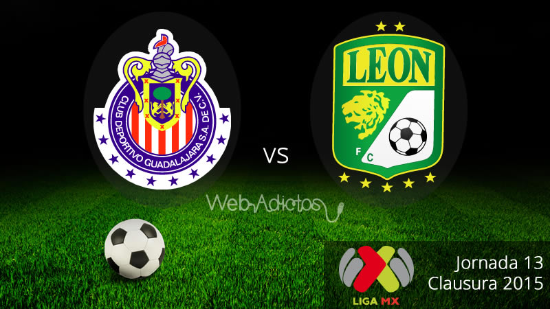 Chivas vs León en el Clausura 2015 - Chivas-vs-Leon-Clausura-2015