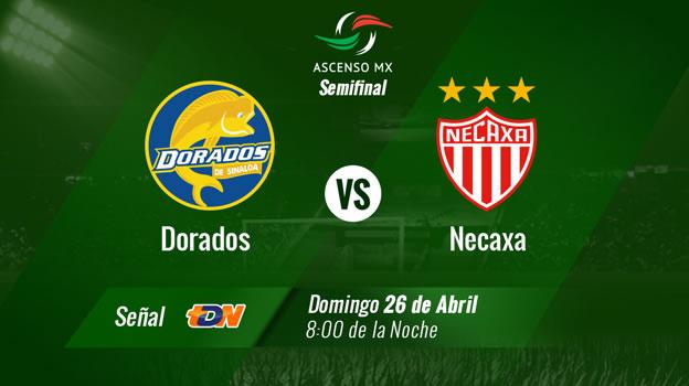 Dorados vs Necaxa, Semifinal Ascenso MX Clausura 2015 - Dorados-vs-Necaxa-en-vivo-Televisa-Deportes-Clausura-2015