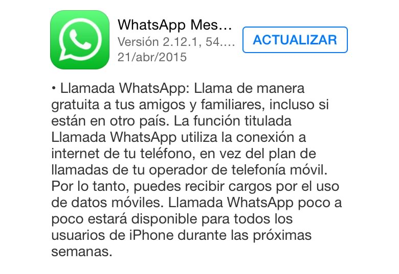 Llamadas de WhatsApp en iPhone ¡Ya disponibles! - Llamadas-de-WhatsApp-en-iPhone
