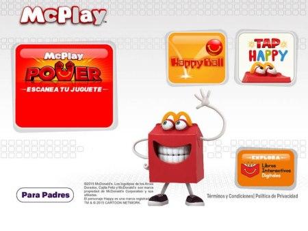 McPlay, la app de McDonald's para jugar en familia