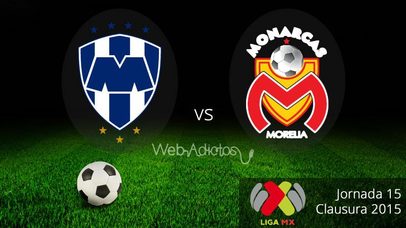 Monterrey vs Morelia en el Clausura 2015 - Monterrey-vs-Morelia-Clausura-2015