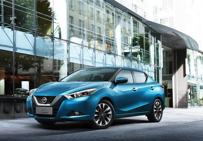 Nissan Lannia se estrenó en el Auto Show de Shanghái 2015 - Nissan-Lania-Auto-Show-Shanghai