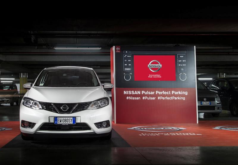 Nissan apuesta por estacionar el auto de forma segura - Nissan-estacionar-seguro