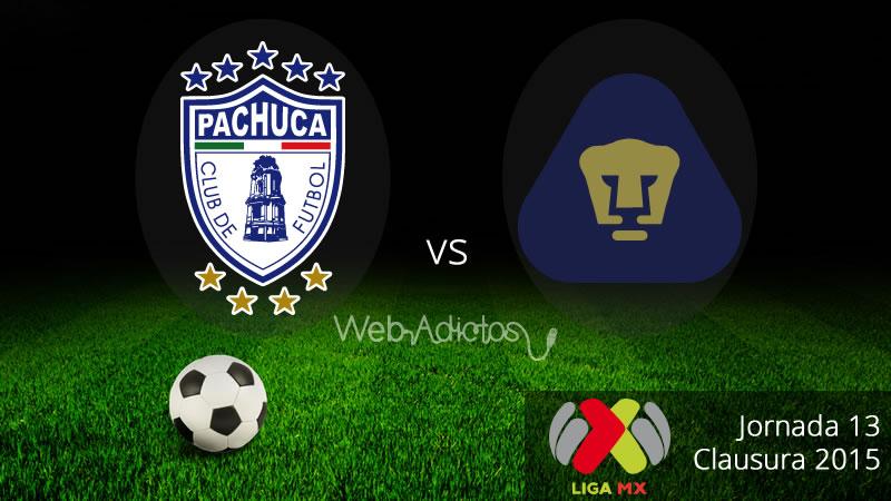 Pachuca vs Pumas, Fecha 13 del Clausura 2015 - Pachuca-vs-Pumas-Clausura-2015