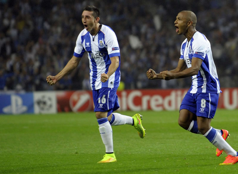 Porto vs Bayern Munich en Champions 2015 (ida) - Porto-vs-Bayern-Munich-Champions-2015