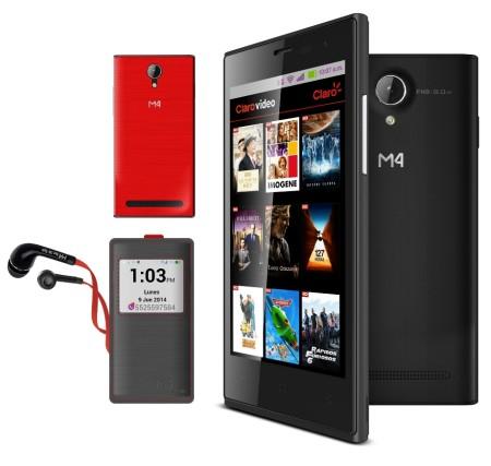 La mexicana M4, lanza su smartphone M4 Style SS4045 - SS4045-Edition-XT-Graphito-450x427