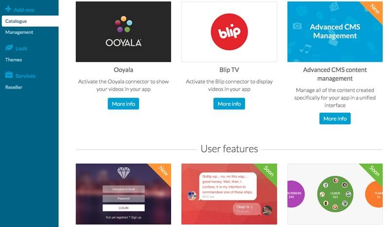 Las novedades de Goodbarber para crear apps robustas ¡Más fácil! - Tienda-de-Add-Ons-GoodBarber