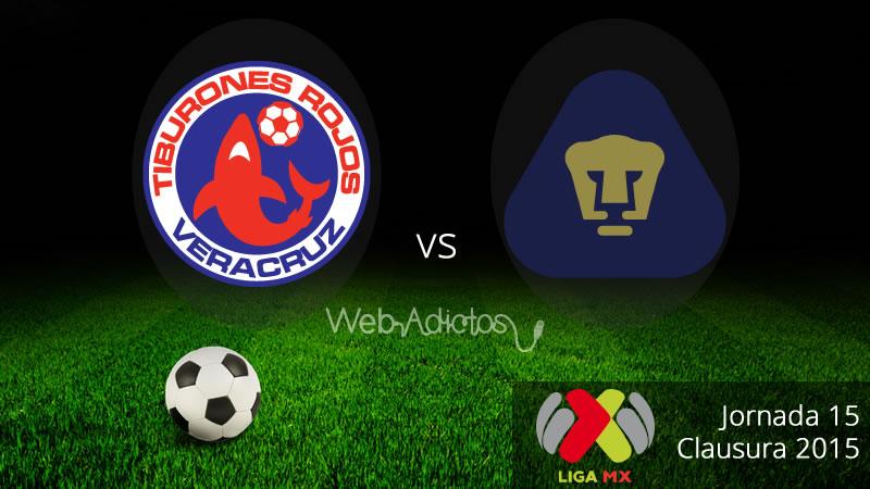 Veracruz vs Pumas en el Clausura 2015 - Veracruz-vs-Pumas-Clausura-2015