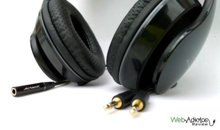 Audífonos con micrófono Audition Dual de Ackteck - cable-conexion-PC-audifonos-acteck3