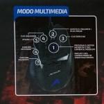 Kit Gamer: Teclado + Mouse de Acteck - modo-multimedia-del-mouse-Acteck