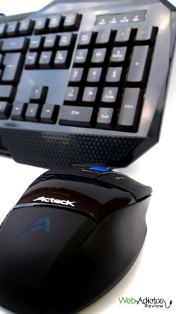mouse teclado kit gamer 253x450 Kit Gamer: Teclado + Mouse de Acteck