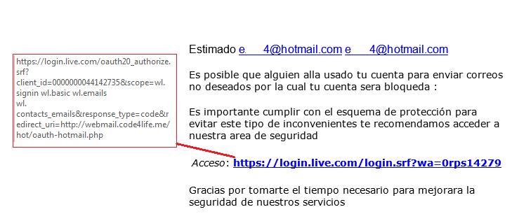 Alertan a usuarios de Hotmail (Outlook) sobre una nueva estafa - Correo-estafa-hotmail