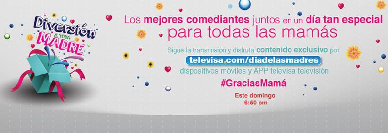 Disfruta el especial de Día de la madre de Televisa en vivo por internet - Dia-de-la-madre-Televisa-en-vivo