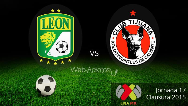 León vs Tijuana en el Clausura 2015 - Leon-vs-Tijuana-Clausura-2015