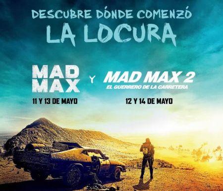 Cinépolis presenta maratón de Mad Max, Champions league y Samo en concierto en Mayo