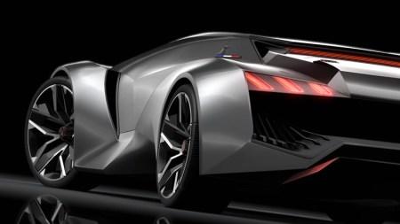 PEUGEOT Vision Gran Turismo, de 0 a 100 Km/h en 1.73 segundos